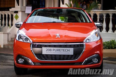 peugeot malaysia peugeot 208 and 2008 facelift previewed new 1 2l turbo
