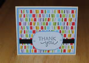 the best days of your crafting sunday handmade thank you card