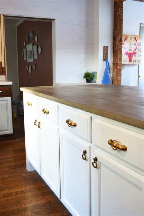 diy kitchen islands 2018 my do it yourself kitchen island with concrete countertops nelliebellie