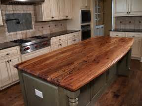 Countertop For Kitchen Island Spalted Pecan Wood Countertop Photo Gallery By Devos