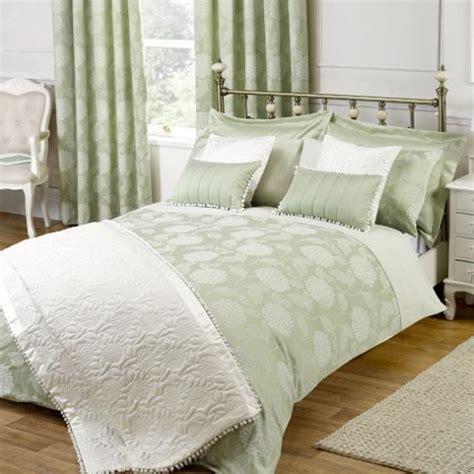 luxury bedding sets by julian charles buy julian charles hydrangea soft green luxury jacquard