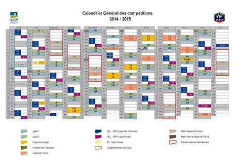 Calendrier Football Coupe D Europe Football Calendrier