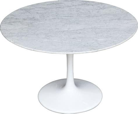 eero saarinen tulip table 48 quot marble top dining table