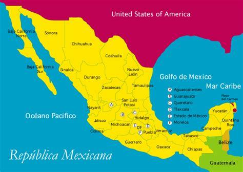 la repblica y sus mapa republica mexicana imagui
