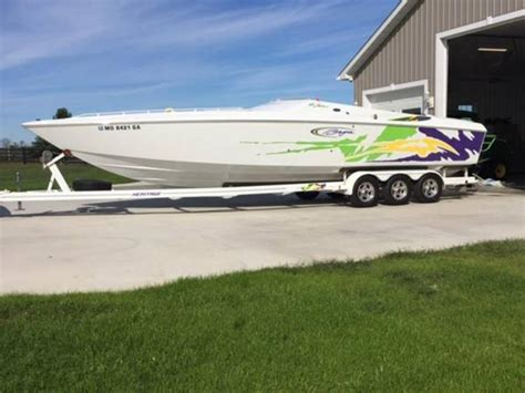 baja boats for sale missouri 2003 baja 33 outlaw powerboat for sale in missouri