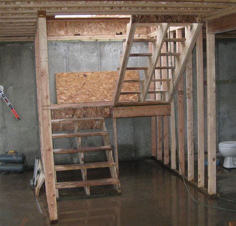 Building Stairs How To Make Basement Stairs