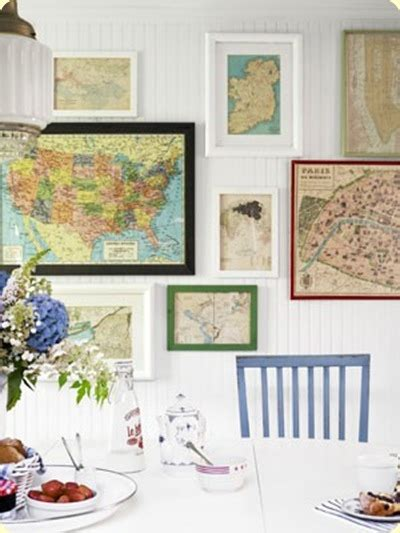 map wall decor decorating with maps twig home