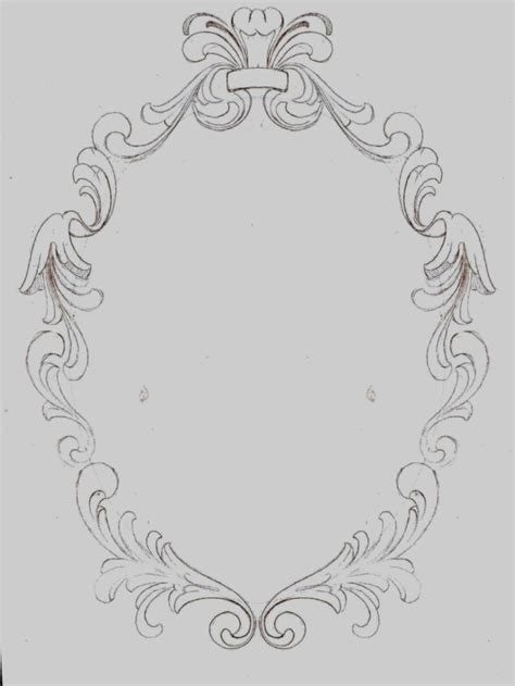 oval tattoo designs oval frame drawing www imgkid the image kid