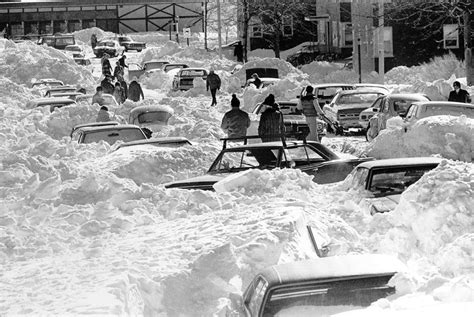 worst snowstorms in history residents of farragut road in south boston are seen in this 1978 file photo digging thier cars