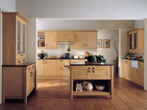 Light Oak Kitchen Designs Quicua Com Light Oak Kitchens