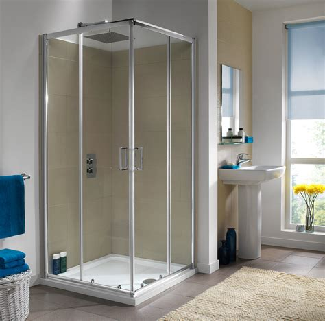 Twyford Shower Doors Twyford Es200 Corner Entry Shower Enclosure 900 X 900mm Es25300cp