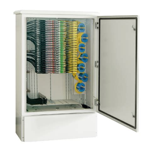 Fiber Optic Street Cabinet CAN FDT 10X   Canovate
