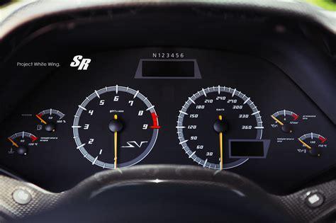 lamborghini reventon speedometer murcielago lp670 4 sv on pur wheels autoevolution