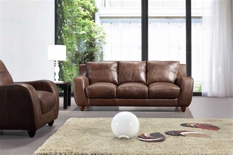 a39 living room set full leather black by esf furniture full leather bremen brown sofa set black design co
