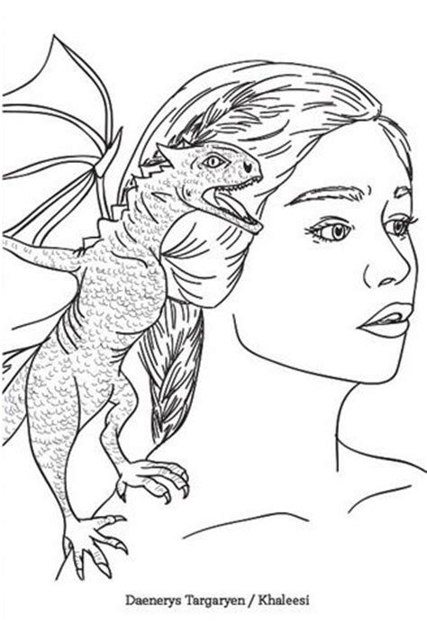 thrones colouring book nz daenerys of thrones coloring page coloring pages