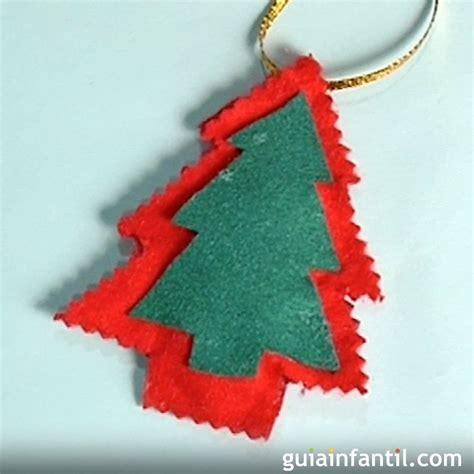 193 rbol de navidad hacer adornos con fieltro manualidades