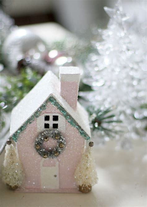 can you still buy xmas tensil diy pink house with pipe cleaner tinsel you can buy these blank houses as http www