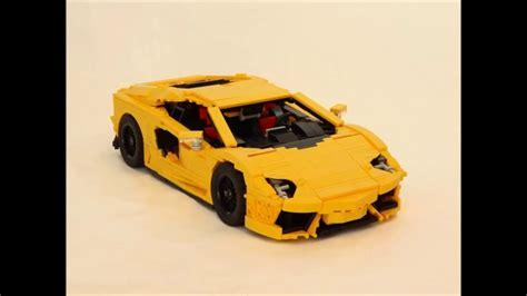 lamborghini lego lego moc lamborghini aventador lp700 4