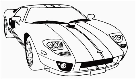 Printable Race Car Coloring Pages race car coloring pages coloring ville