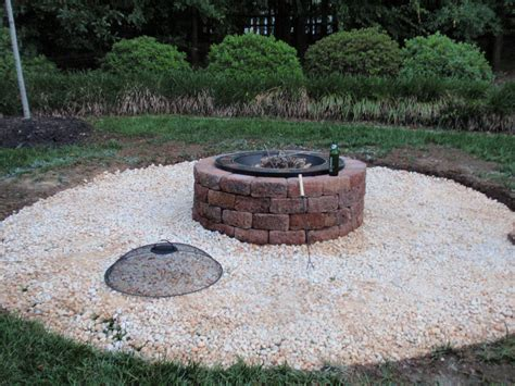 punkwife outdoor diy project firepit patio