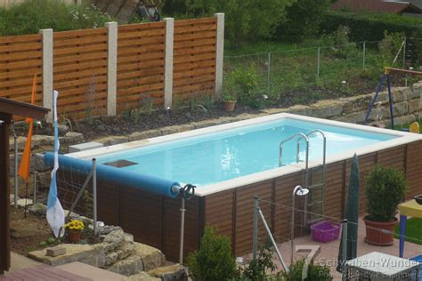 pool zum aufstellen gartenpool zum aufstellen kunstrasen - Schwimmbecken Zum Aufstellen