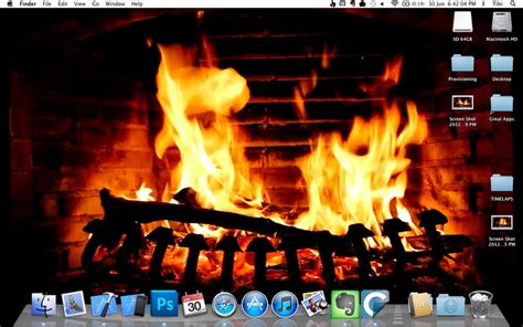 Computer Fireplace by Crackling Screensaver For Pc Qiamagg