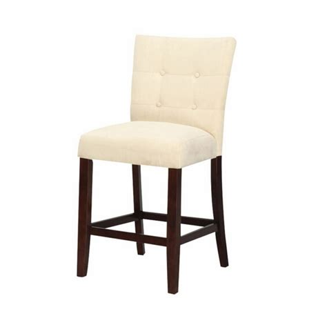Tufted Button Back Bar Stools by Set Of 2 Baldwin Beige Counter Height Parson Style Counter Height Stools With Fabric Upholstered