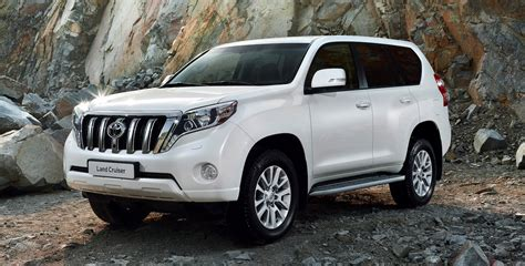 land cruiser car 2014 toyota prado facelifted suv here in october three