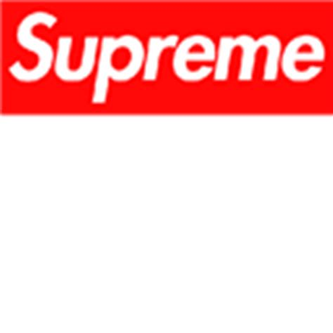 Jaket Sweater Roblox supreme logo roblox