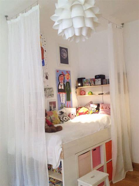 ikea kallax headboard storage bed kallax expedit girls room kids room diy