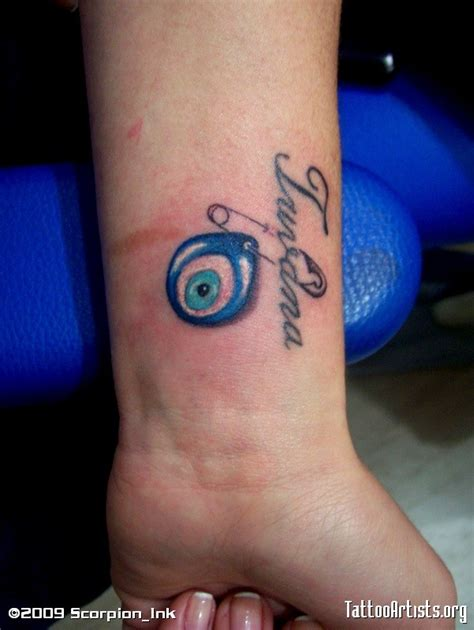 blue evil eye tattoo artists org