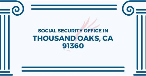 social security office in thousand oaks california 91360