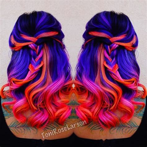 how to dye your hair neon purple 10 steps with pictures i wanna learn how to get that pinkish color hair color