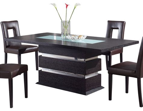 global furniture dining table wenge contemporary