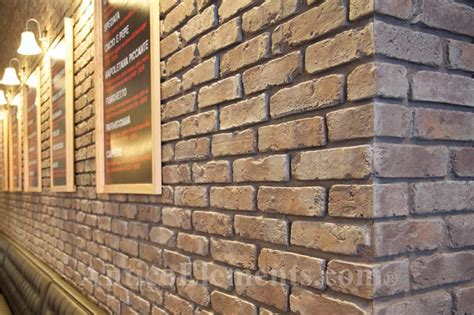 Faux Brick For Residential And Commercial Uses Interior Brick Veneer Home Depot