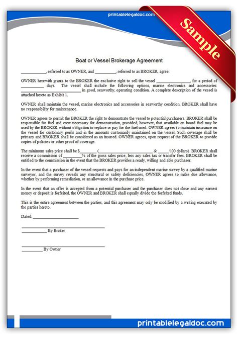 boat sales employment free printable retraction demand form generic
