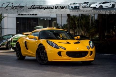 lotus dealer miami purchase used 2007 lotus s in miami florida united