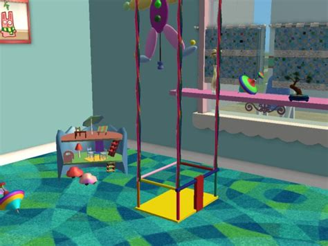 sims 2 baby swing mod the sims new mesh swing for toddler