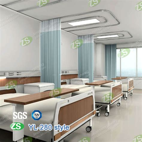 room divider curtain track suppliers of polyester fabric hospital room divider