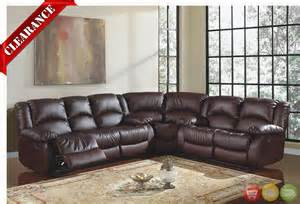 20 brown leather sectional sofas with recliners