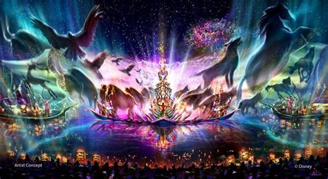 doodle a of light in the kingdom of darkness new rides shows and eats at walt disney world by 2017