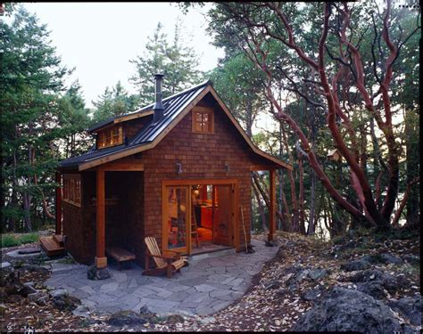 small cabin house gallery orcas island cabin david vandervort architects