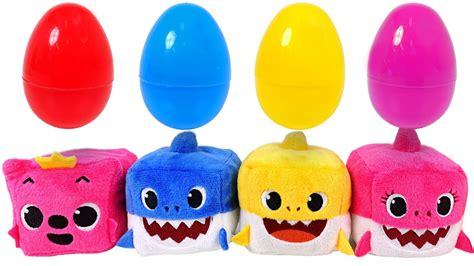 Shark Family Pinkfong Figurines sing along with shark family pinkfong cube shark family dolls pinkypoptoy clipzui