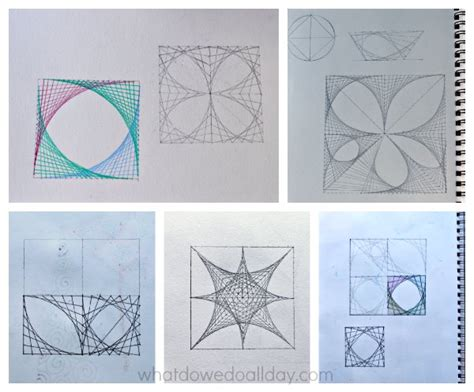 home design math project super cool math art with parabolic curves