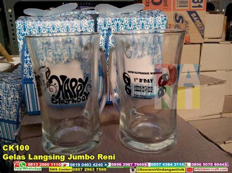 Reni Jumbo gelas langsing jumbo reni souvenir pernikahan