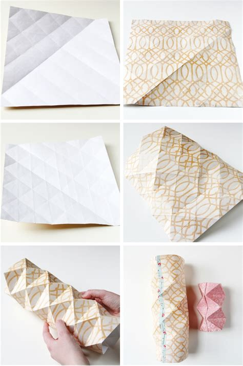 How To Make Paper From Paper - diy origami paper vases gathering
