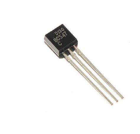 bc547 npn transistor operation 50pcs bc547 to 92 npn 45v 0 1a transistor new ebay