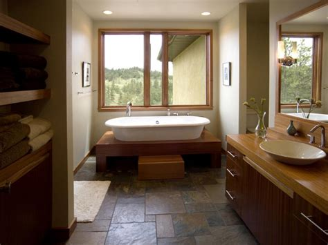 flooring ideas for bathrooms choosing bathroom flooring hgtv