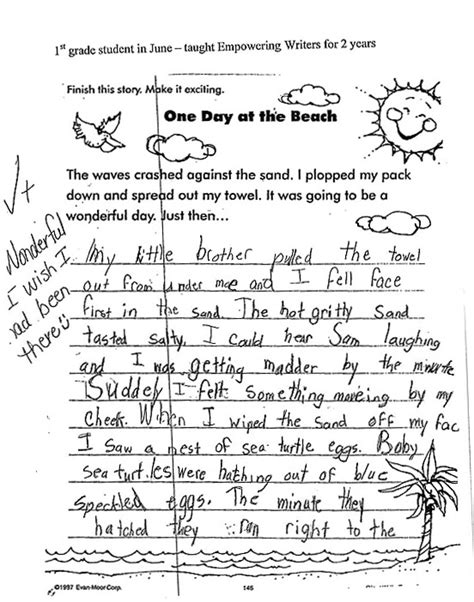 Grade 1 Essay Writing by See What Empowering Writers Can Do For Your Students By Viewing Student S Narrative Writing