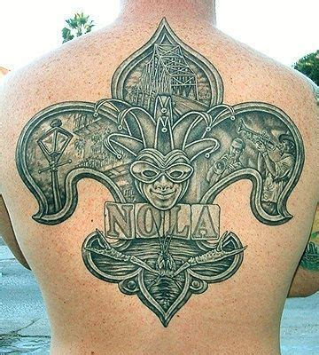 new orleans saints tattoo 15 best new orleans saints tattoos images on
